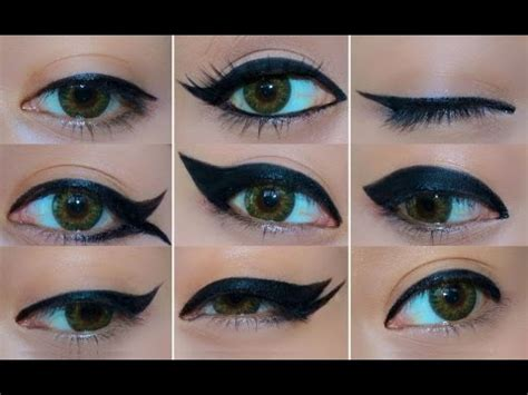 eyeliner tutorial thin how to apply eyeliner perfectly by yourself step by step