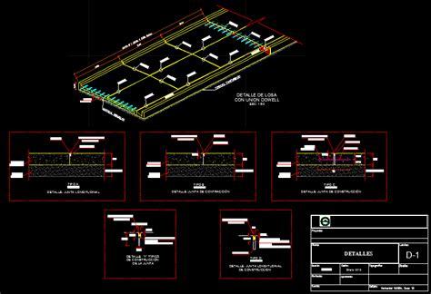 pavimento dwg juntas y detalles de pavimento hidr 225 ulico 215 06 kb