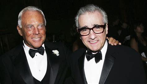 Martin Scorcese And Giorgio Armani Work Together by Martin Scorsese S Armani Story Buro 24 7
