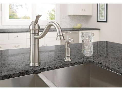 Moen Kitchen Faucets Brushed Nickel by Moen Monticello Kitchen Faucet Brushed Nickel