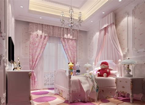 pink interior design pink children bedroom interior design villa