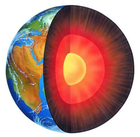 cross section of the world how heavy is the earth
