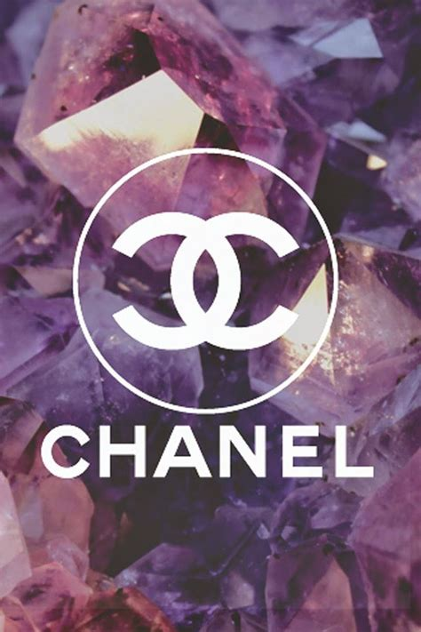 coco chanel logo diamonds background iphone  wallpapers