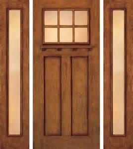 Craftsman Exterior Door Jeld Wen A362 Door And A1103 Sidelights Mahogany Woodgrain Craftsman Front Doors Ta