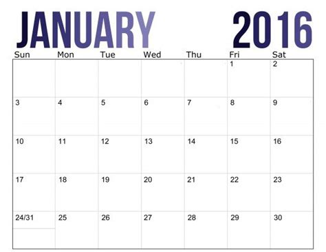 january 2016 calendar 2016 calendar free printable here comes the sun