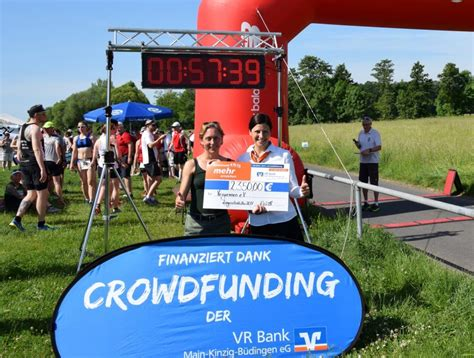 vr bank neuberg öffnungszeiten crowdfunding projekt vegrennen ein voller erfolg