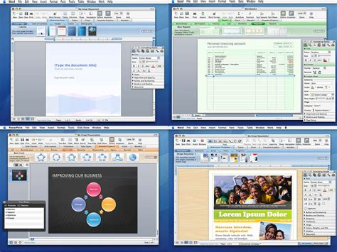 Microsoft Office 2011 Mac by Microsoft Office 2011 For Mac 14 1 2 Sp1 Screenshots