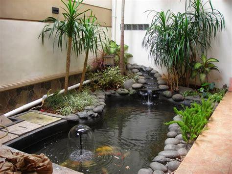 desain gambar ikan desain taman dan kolam ikan minimalis dalam rumah blog