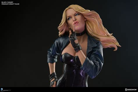 Kaos Dc Black Simple Premiun pre orders up for new sideshow black canary premium format figure the toyark news