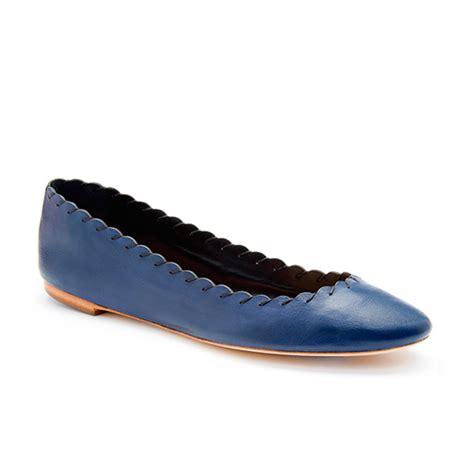 navy shoes flats loeffler randall karlotta ballet flat in blue navy
