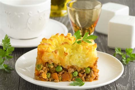 Cottage Pie Sauce by Rustic Cottage Pie With Sauce Recipe By Archana S