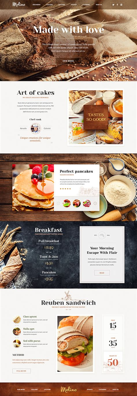 web layout behance website design best of 2014 on behance