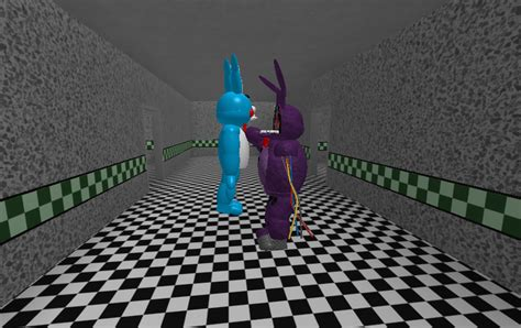 Wallpaper Bonny 1073 withered bonnie tries to get his back by fnaffangamer12 on deviantart