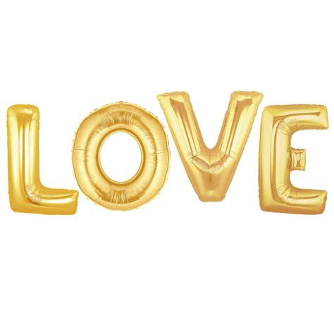 Dijamin Balon Foil You Are Loved gold balloons the wedding of my dreams