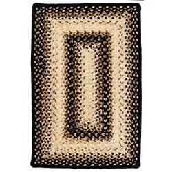 braided rugs black mist ultra durable braided rugs