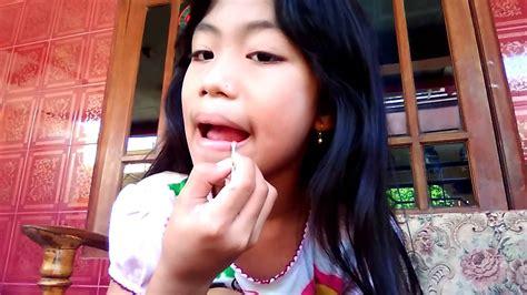 tutorial make up natural anak remaja make up natural anak kecil youtube