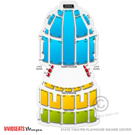 playhouse square seating state theatre playhouse square center tickets state
