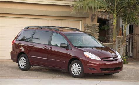 toyota minivan car and driver