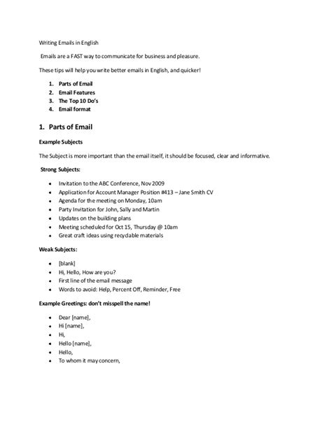 Resume Through Email Sample by Email Writing Indetail
