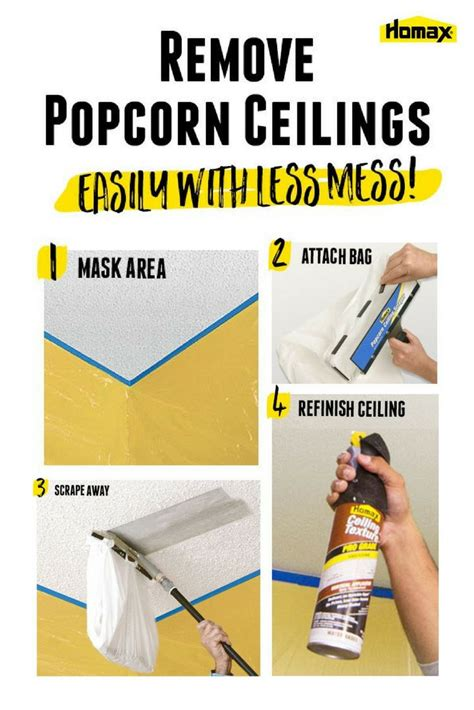 Homax Ceiling Texture Scraper For Popcorn Ceiling Removal by 25 Best Ideas About Popcorn Ceiling On Cover