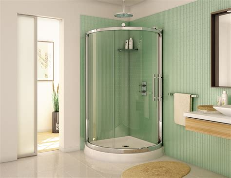 36 Inch Glass Shower Door Fleurco 36 Quot X 36 Quot Sorrento Arc 1 4 Quot Glass Semi Frameless Shower Door Ebay