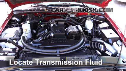 Transmission Fluid Level Check Chevrolet S10 1994 2004