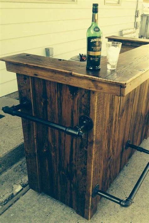 Faire Un Bar En Bois by Faire Un Bar En Bois Amazing Meuble Bureau Industriel Et