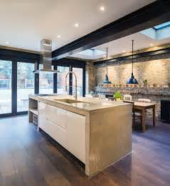Kitchen Wall Color With Oak Cabinets magnificent rustic industrial kitchen design kitchen