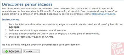 electronics dealer mail crear correo personalizado con dominio propio bajo outlook