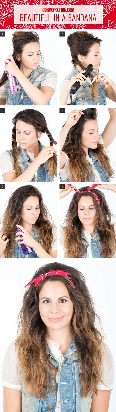 16 beautiful hairstyles with scarf and bandanna pretty 17 best ideas about bandana hairstyles on pinterest hair