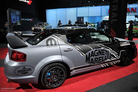 nyias 2011 mopar dodge avenger rally car live photos