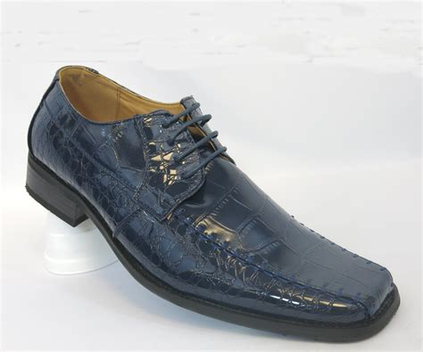 best shoes for style and comfort milano moda a5739 navy shoes exotic patent tie up for
