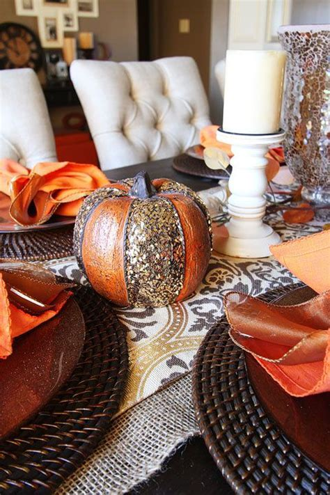 25  best ideas about Fall Dining Table on Pinterest   Fall