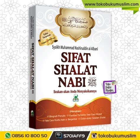 Sajadah Shalat Tebal Hemat F386 buku sifat shalat nabi syaikh muhammad nashiruddin al albani