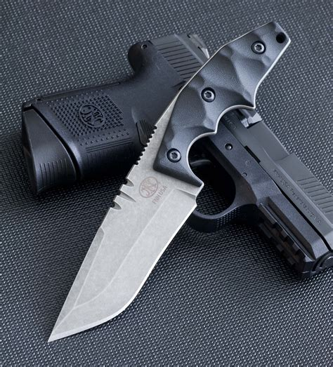 fixed blade carry knife edc for ccw fnh usa s limited edition bawidamann tactical