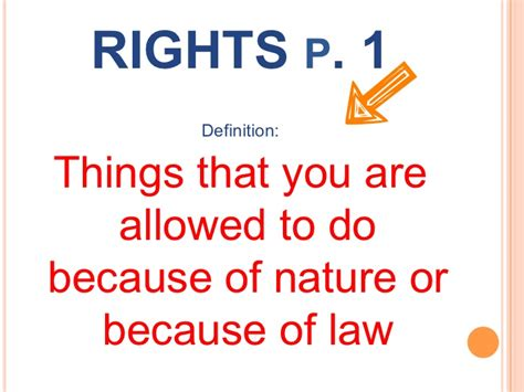 right meaning rights and responsibilities citizenship