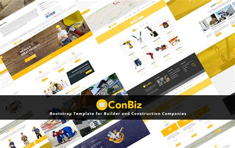 bootstrap templates for construction 120 best free and premium bootstrap website templates of 2018