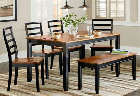 Two Toned Dining Room Sets by Lexford Two Tone Dining Room Set 14922 Standard Furniture