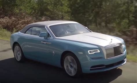 roll royce road rolls royce dawn road test review