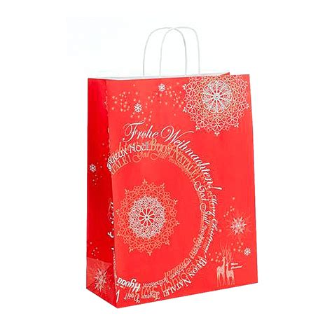 st nicholas design paper carrier bags from carrier bag