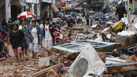 earthquake hits indonesia earthquake hits western indonesia panorama armenian news
