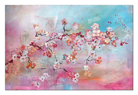 Acrylbilder Zum Nachmalen by Tutorial Kirschbl 252 Ten Malen Anf 228 Nger Cherry Blossoms