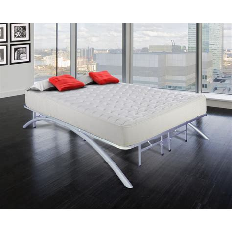 California King Size Platform Bed Frame Rest Rite Cal Size King Dome Arc Platform Bed Frame In Silver Mfp00112bfck The Home Depot