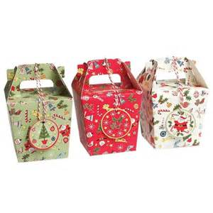 christmas carnival gift boxes set of 3 bakeware