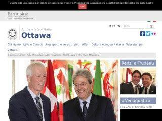 consolato italiano canada sito ambasciata italiana in canada