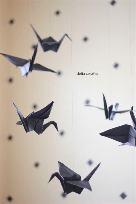 Origami Crane Paper - paper crane mobile