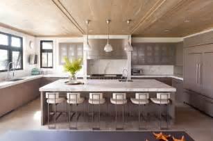 hampton beach house contemporary kitchen new york