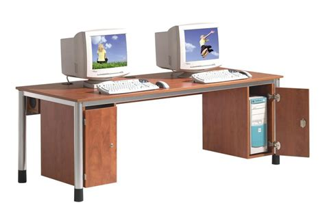 schreibtisch bürotisch computertisch f 252 r 2 monitore bestseller shop f 252 r m 246 bel