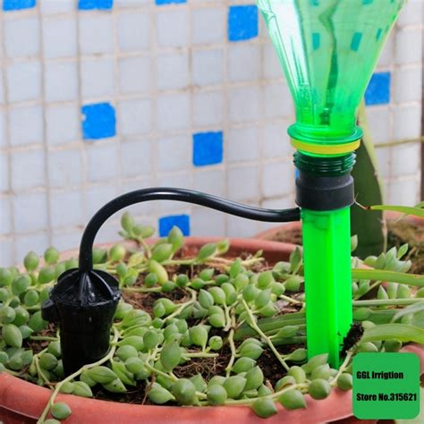home garden plants simple automatic watering device flower
