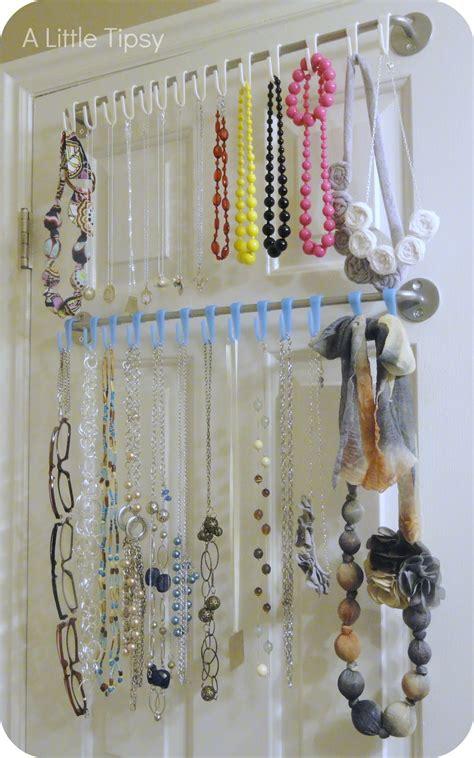 organic diy jewelry organizer